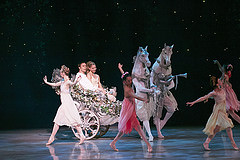 "A magical carriage ride in the KC Ballet's ""Cinderella""."