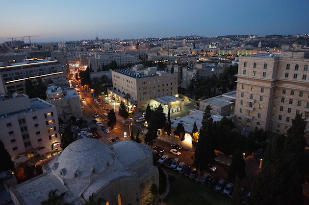 Jerusalem stone gives the city its iconic glow in the evenings.