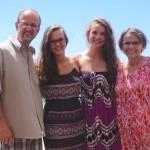 Dwight, Hannah, Emma and Anita Widaman
