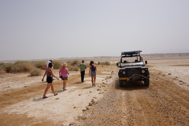 Our Bedouin guide gave us the ride of a lifetime as we headed across the desert in search of Sodom and Gomorrah.