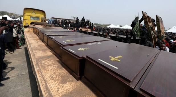 nigerians buried