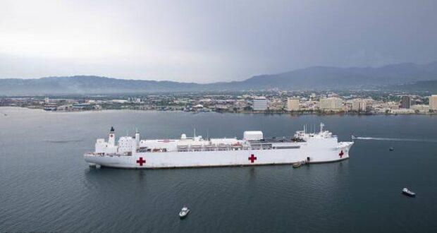 navy coronavirus comfort mercy